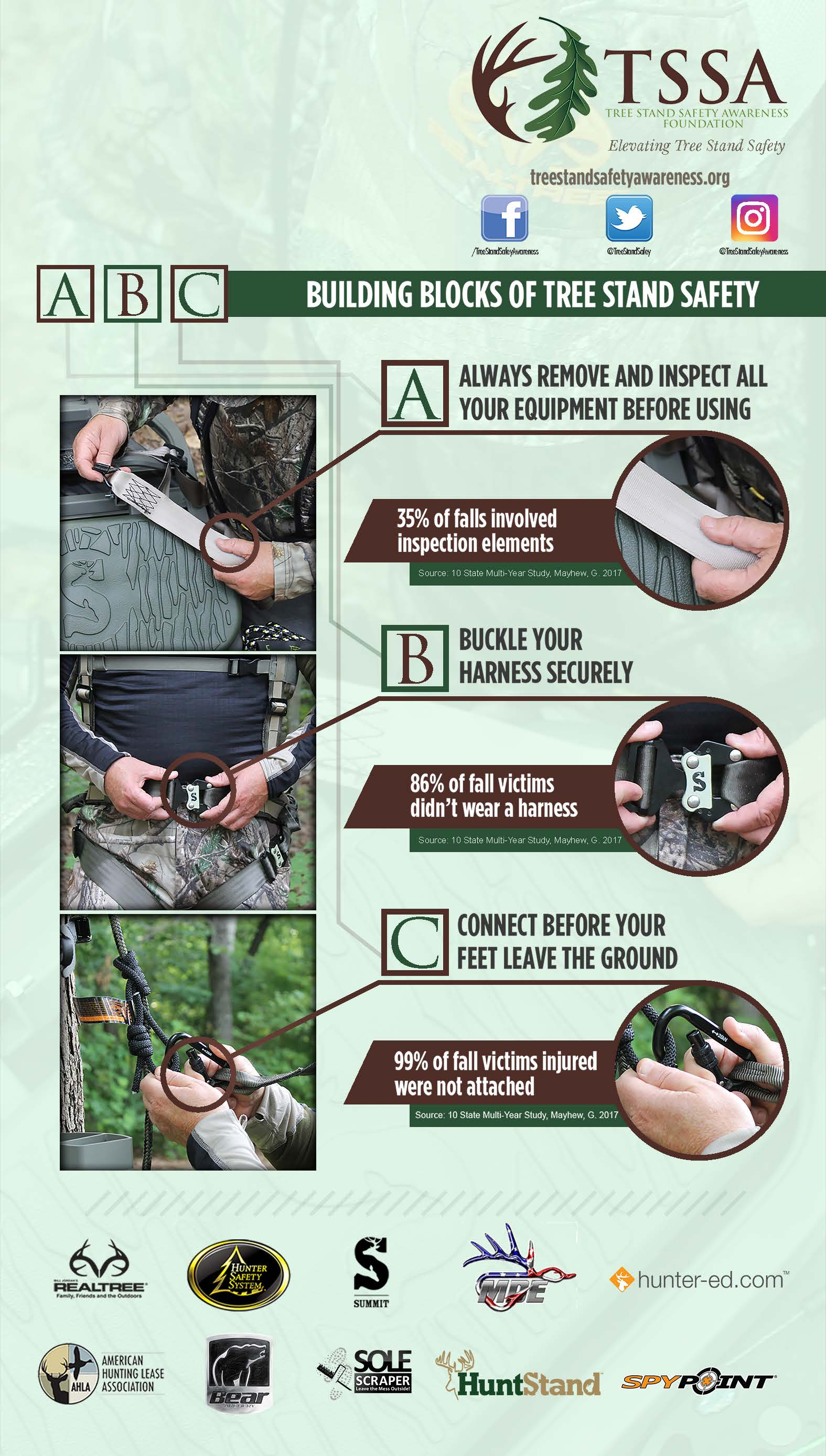 tree stand safety awareness tips