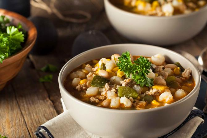 chicken chili with cannelini beans