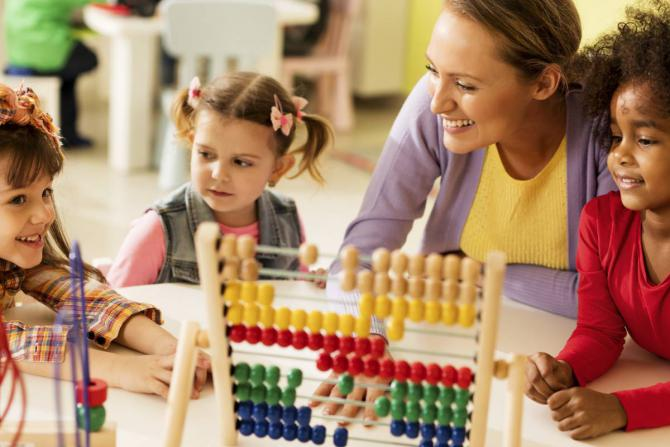 children daycare childcare abacus wooden toys