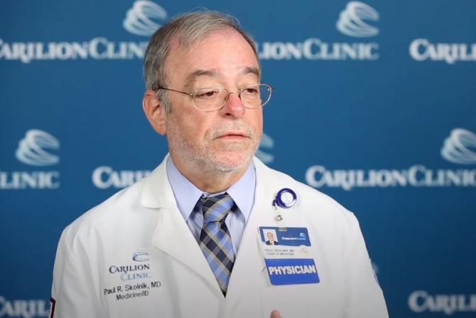 Paul Skolnik, M.D., chair of medicine at Carilion Clinic