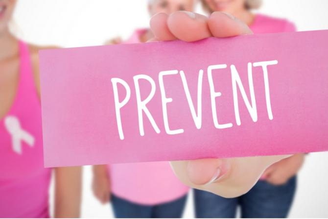 pink prevent sign