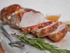 Pork Tenderloin with Rosemary and Thyme
