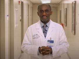 Dr. Anthony Baffoe-Bonnie, chief of Infectious Disease at Carilion Clinic