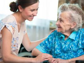 Caregiving at end-of-life.