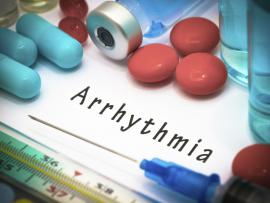 medications and the word arrhythmia