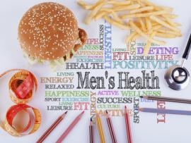 picture of words about men's health