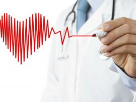doctor drawing heart