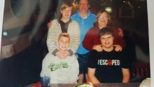Organ donor patient story family photo_What if you could save a life