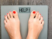 A woman needs help with weight loss.